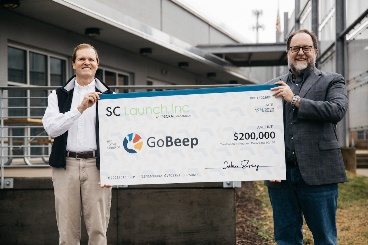 SCRA Announces Investment in Software Startup, GoBeep